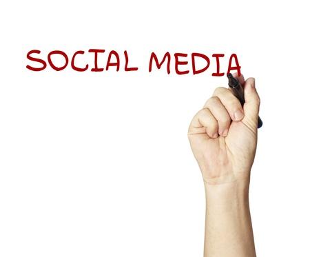 Stock Photo: drawing social network Stock Photo - 11316059