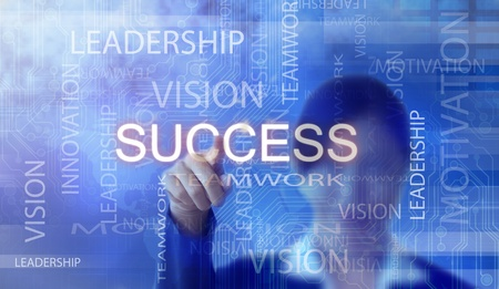 Success flow chart made with Stock Photo - 11793045