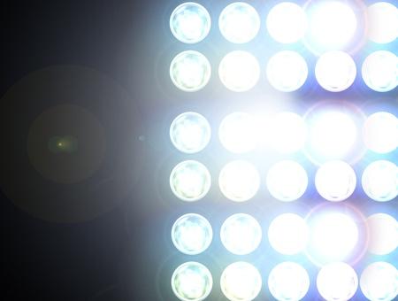 baseball stadium: Floodlight