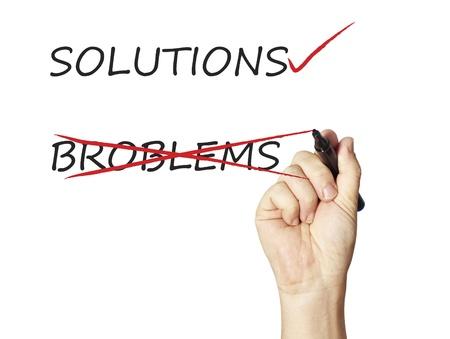 Businessman draws solutions Stock Photo - 12938351