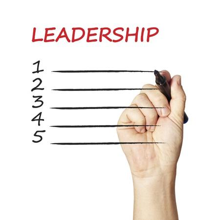 Schreiben Führung 1 2 3 Standard-Bild - 12938341
