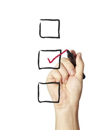 checklist: Image of success concept   Stock Photo