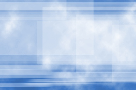 Blue and Line background of abstract  photo