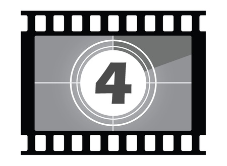 35mm: film countdown  Number 4
