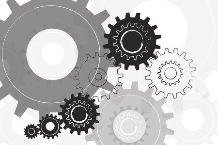 Machine Gear Background  Stock Photo