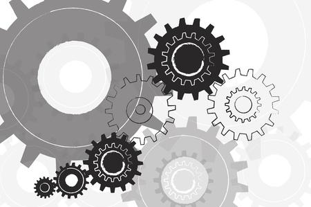 engineering icon: Machine Gear Background  Stock Photo