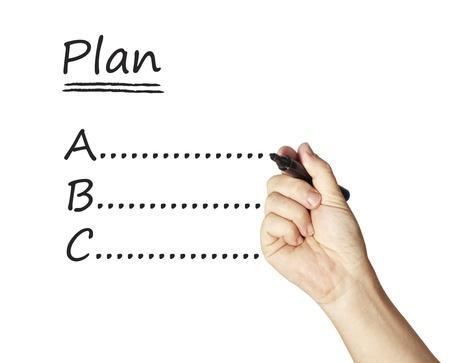 writing planning Imagens