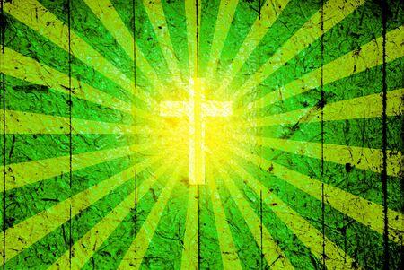 sacre coeur: Fond de carte verte