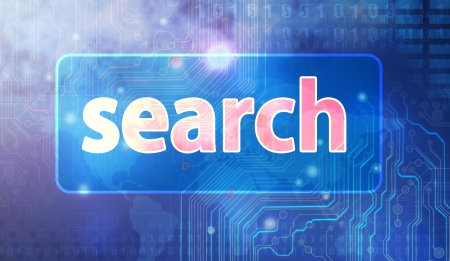 abstract search Text Stock Photo - 17933253