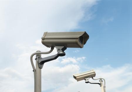 Berwachung Überwachungskamera Standard-Bild - 18000240
