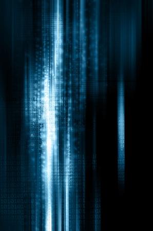binary code background Stock Photo - 19112292