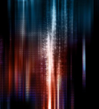 binary code background Stock Photo - 19112301