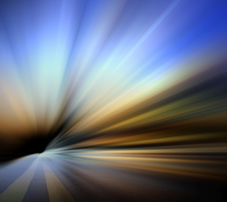 Smooth blue abstract background photo