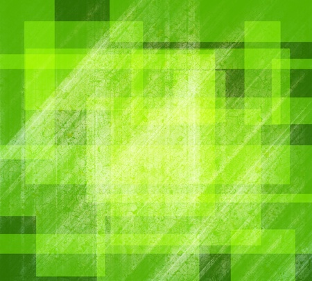 Green and Line background of abstract photo