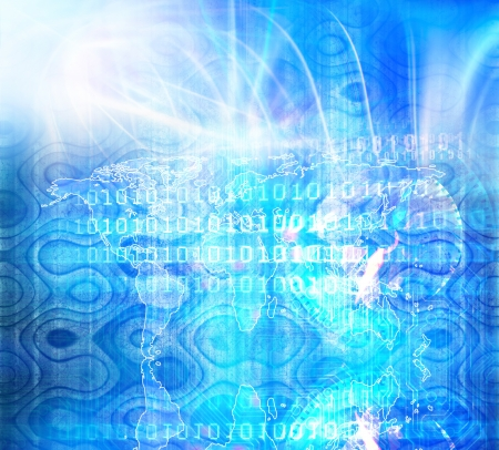 Computer Software Binary Code Stock Photo - 19654701