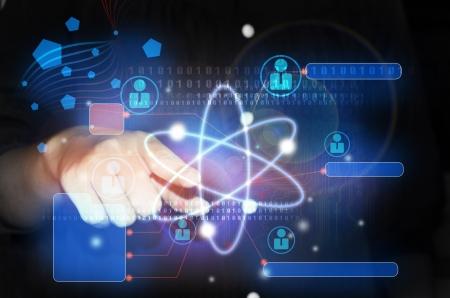 quantum: Atoom Stockfoto