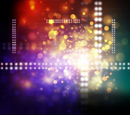 Konzert Lichtshow, Bühnenlicht Standard-Bild - 21515099