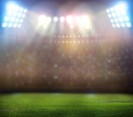 cheer full: bright spotlights,