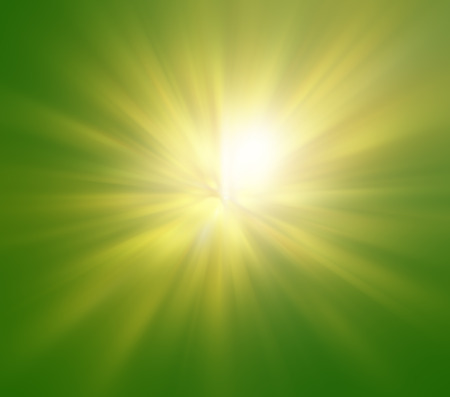 Green sunny background  photo