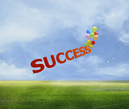 3d Success in business  photo