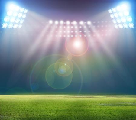 soccer field: stadium
