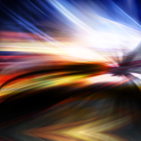 speedy: Abstract night acceleration Speed in motion