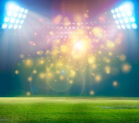 stadium lights: soccer stadium with the dright lights