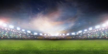 campo di calcio: faretti