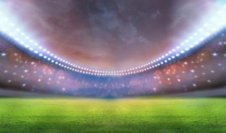 football match lawns: spotlights