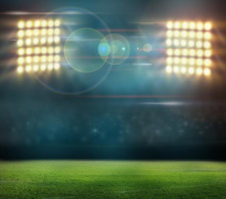 stadium lights Archivio Fotografico