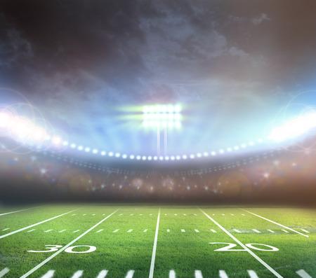 Licht des Stadions Standard-Bild - 29776663