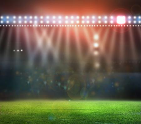 lights and stadium photo