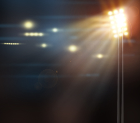 Spotlight, a few points of light on stage photo