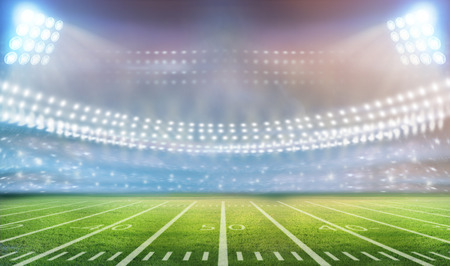 campo de beisbol: luz del estadio