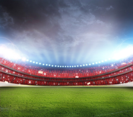football stadium: Stadium Stock Photo