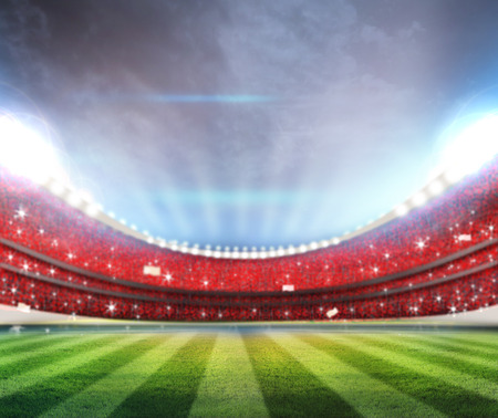 campo de beisbol: Estadio Foto de archivo