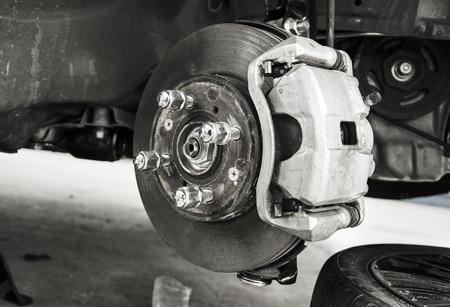 Reparieren Bremsen an Auto Standard-Bild - 31772799