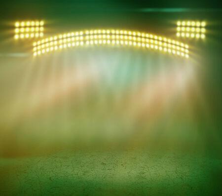 stage lighting: Brilliant blue stage lighting