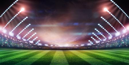 Licht des Stadions Standard-Bild - 32881433