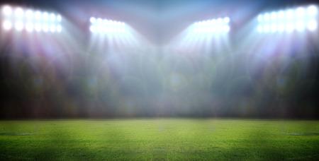Stadion Lichter in der Nacht im Stadion Standard-Bild - 32893741