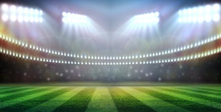 stadium in lights photo