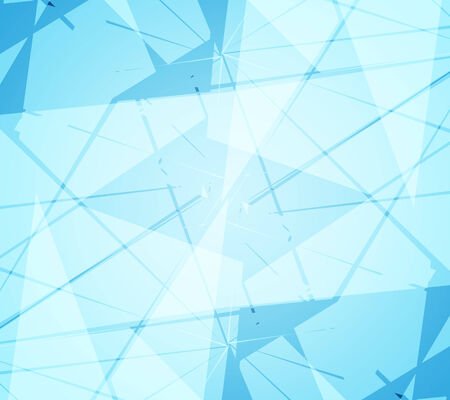 totaled: Blue abstract background