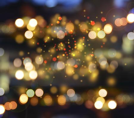 gold christmas: Gold Festive Christmas background.
