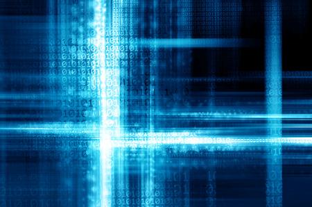binary code: Binary code background