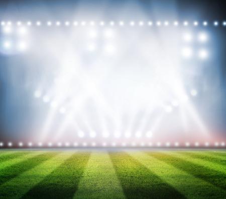 Stadion Fußball Standard-Bild - 32843742