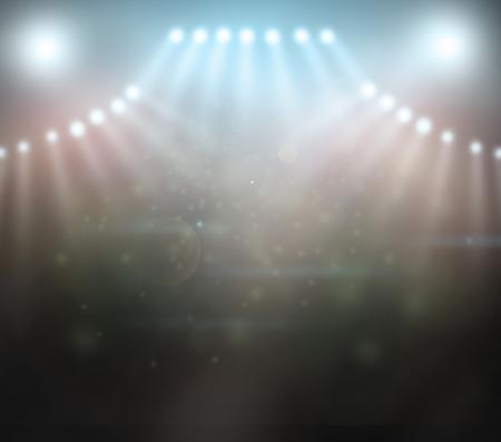 Bühne Spotlight Standard-Bild - 32845361