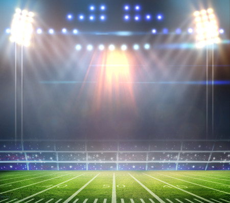 light of stadium photo