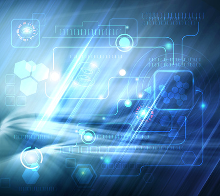 telecoms: abstract technology background