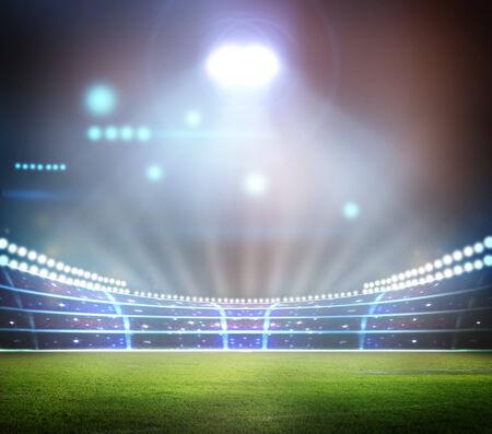 gradas estadio: Luz del estadio,