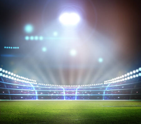 baseball stadium: Stadium light,